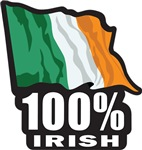 100% IRISH Proud to be Irish