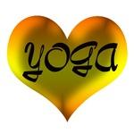 YOGA HEART (YELLOW)