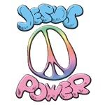 PEACE SIGN / JESUS POWER