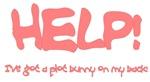 Pink Plot Bunny