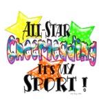 Cheerleading is my sport!