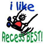 I like recess best!