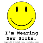 I'm Wearing New Socks