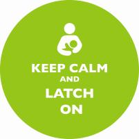 Keep Calm and Latch On Green