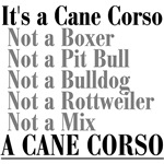 It's a Cane Corso.... Explained - Back Printing