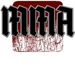 Gothic design MMA teeshirts
