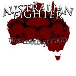Australian Fighter shirts - this could get ugly
