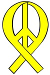 Peace Ribbons (Homecoming Yellow)