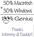 50% Mac and Windows