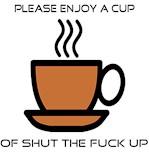 Enjoy a Cup (Horizontal)