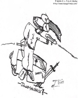 Duck Maniac: Line Drawing