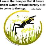 underwater - John Keats