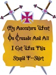 On Crusade Shirts
