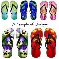 Pretty Feet Flip Flops