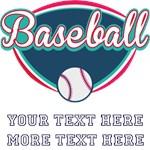 Personalized Baseball Fan
