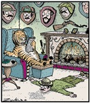 A Tiger's Trophy room