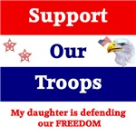 My Daughter is Defending our Freedom