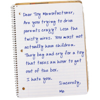 Letter to Toy Companies