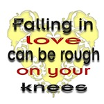 Falling in love can be rough on your knees