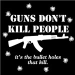 It's the bullet holes.