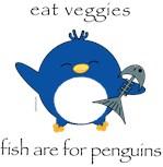 Veg Pengy Fish for Penguins
