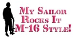 My Sailor Rocks It M-16 Style!