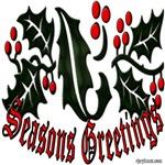 Christmas Seasons Holly