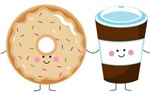 Coffee and Donut BFF