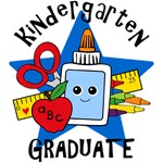 School Supplies Kindergarten Grad