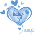 I Love My Bump Blue