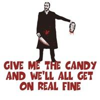 Sick humor Halloween Tees-sick humor candy theme