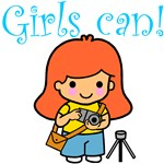 Girls Can-Tees & Gifts for Girls Who Can Do It All