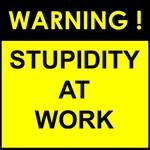 Stupidity at work