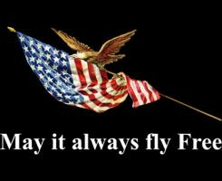 May it always fly free