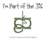 Part of the 3%
