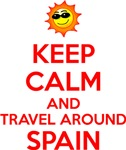 Keep Calm and Travel around Spain