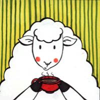 Sheep with Coffee