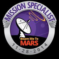 Beam Me To Mars Mission Specialist