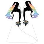 Mermaid Dress Lesbian Brides