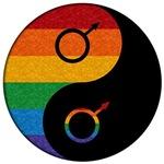 Gay Pride Yin and Yang
