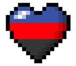 Polyamory Pixel Heart