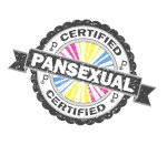 Certified Pansexual Stamp
