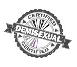 Certified Demisexual Stamp