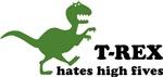 T-rex hates high fives