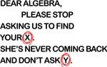 Cute Dear Algebra