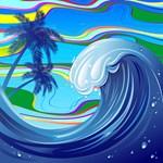 Sea Ocean big Wave Water