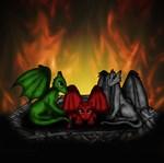 Dragonbabys in Nest