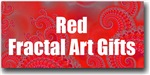 Red Fractal Art Gifts