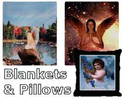 Angel Pillows & Blankets