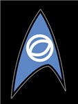 Star Trek TOS Sciences Badge